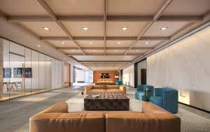ColumbiaPropertyTrust 80M LobbyMain 031521 CXP's Renovation of Office Building to Become DC's First Mass Timber Project