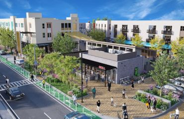 A rendering for Culdesac Tempe