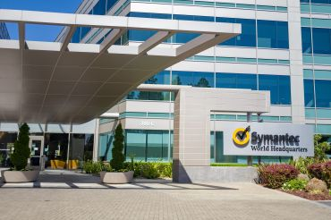 Symantec World Headquarters in Silicon Valley (Whisman Campus buildings not pictured).
