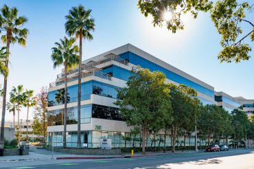 The 1.2-million-square-foot campus at 2425-2501 Colorado Avenue spans 15 acres, and houses corporate offices for content creators like Hulu and HBO.
