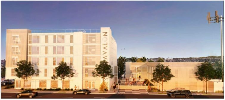 A rendering for Hope on Avalon in Los Angeles.