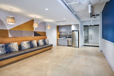 One of Seven Spec Suites at Ballston Exchange Designed by Hickok Cole