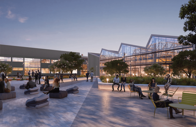 """L'Oréal will move into 888 North Douglas in early 2022, calling it a """"second headquarters."""""""