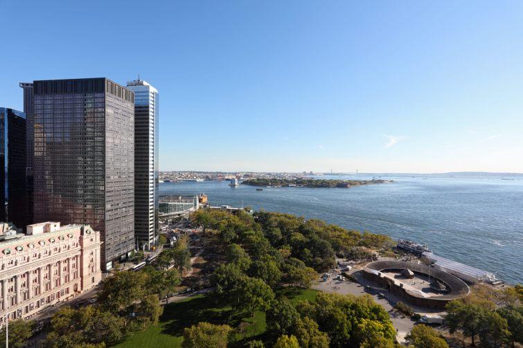 One Battery Park Plaza in lower Manhattan.