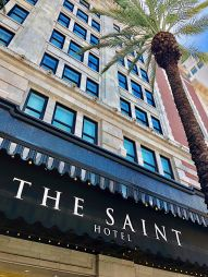 The Saint Hotel in New Orleans.
