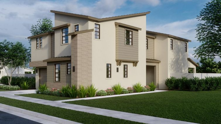 One of the new residences at The Estates at Ponte Vista.