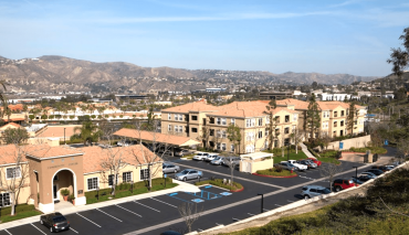 Located at 145-235 South Festival Drive, the senior apartment community is adjacent to Anaheim Hills Festival Center.