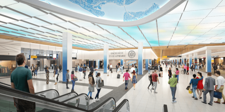 The state and the MTA are renovating the LIRR concourse that runs between 7th and Eighth Avenues.