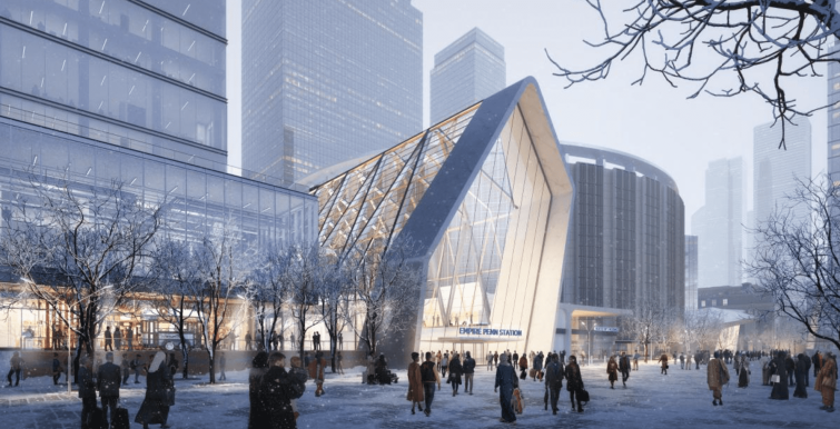 A new entrance that could be created in the former taxiway to MSG.