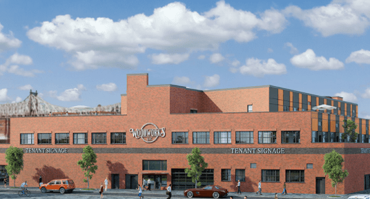 A rendering of The Woodworks LIC.