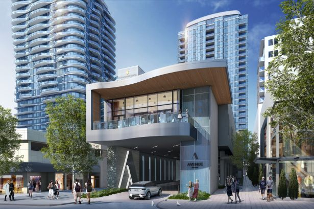 Rendering of Avenue Bellevue.