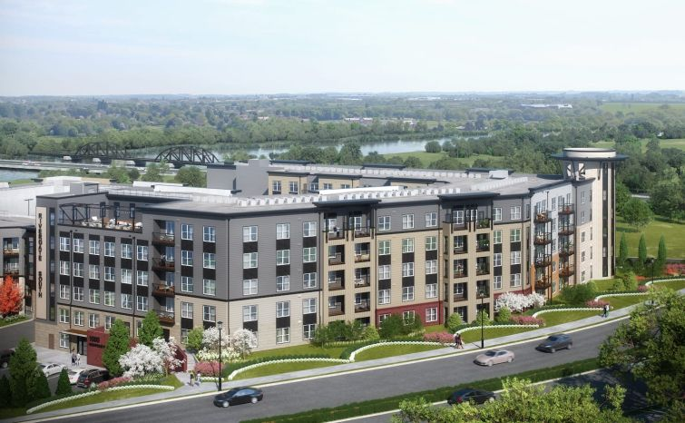A rendering of 1000 Annapolis Way.