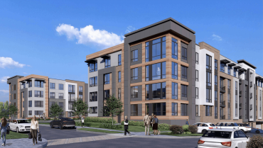 A rendering of The Morrison in Parsippany, NJ.