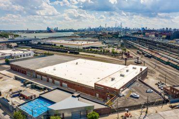 An aerial view of 1080 Leggett Avenue.