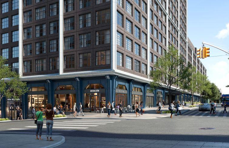 Devoción plans a new coffee shop at Front & York in Dumbo.