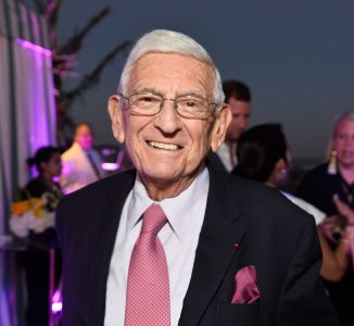 Eli Broad at Waldorf Astoria Beverly Hills Grand Opening Cocktail Celebration in 2017.