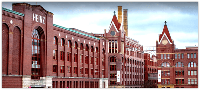 Rendering of the Heinz development.