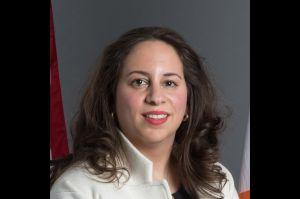 New York City Commissioner of the city's Department of Buildings Melanie La Roca.