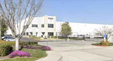 The property is located at 3351 East Philadelphia Street near a Nordstrom distribution center and among a sea of large industrial buildings in Ontario, Calif.