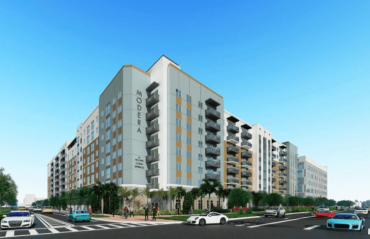 A mock up of Modera Coral Springs. Credit: Dorsky + Yue International Architecture