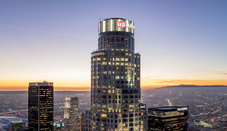 The investment in one of the tallest buildings in the Western U.S. includes redesigning the building's main entrance and lobby, and upgrades across 35,000 square feet of common space, the firm said.