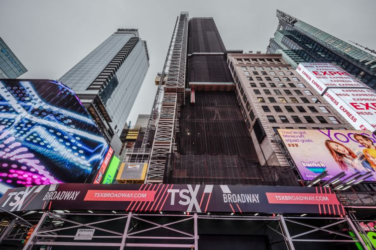 The 46-story, 550,000-square-foot TSX Broadway will include several stories of retail and a 400-key hotel.