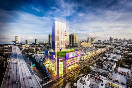 Rendering of Triptych Miami. Credit: Avison Young.