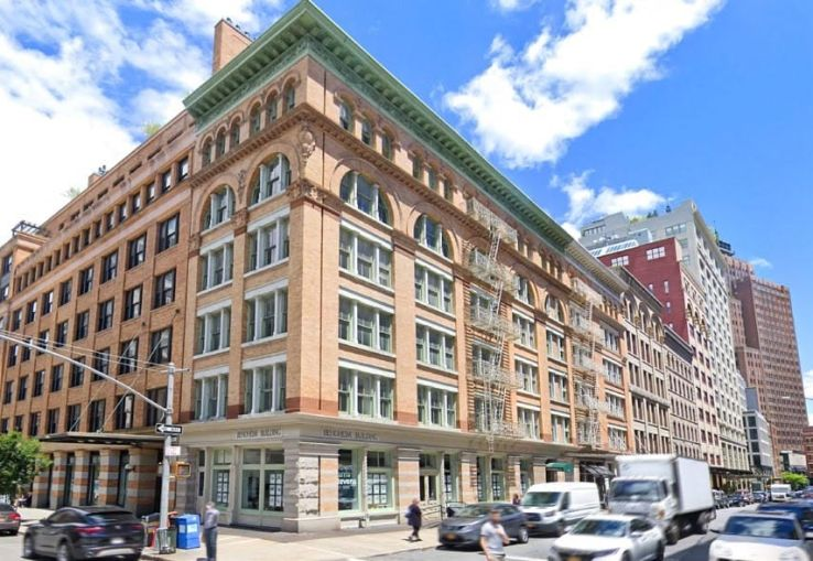 The Bendheim Building at 122 Hudson Street.