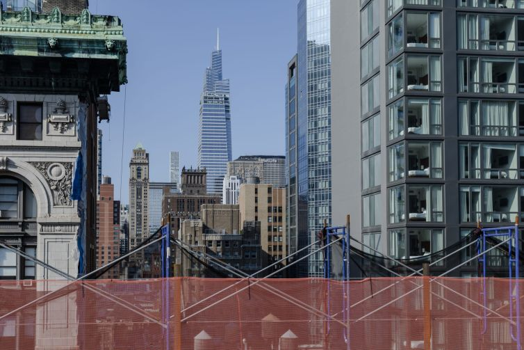 Nice views of Midtown and Mditown South from the roof of 295 Fifth Avenue.