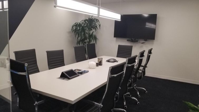 New conference room in Columbia, Md., office