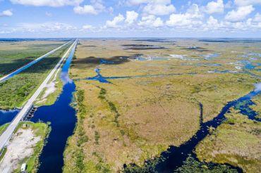 Tamiami Trail, Forida Everglades.