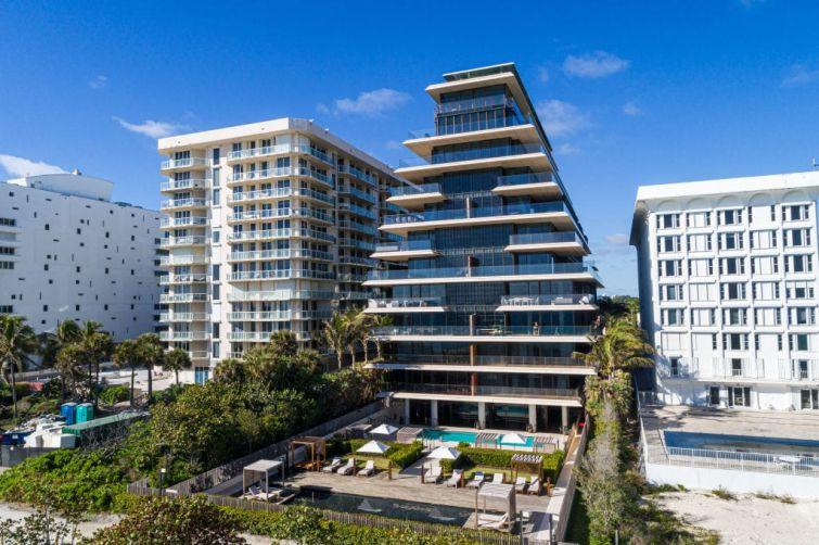 Florida, Miami, Arte Surfside luxury condominiums.