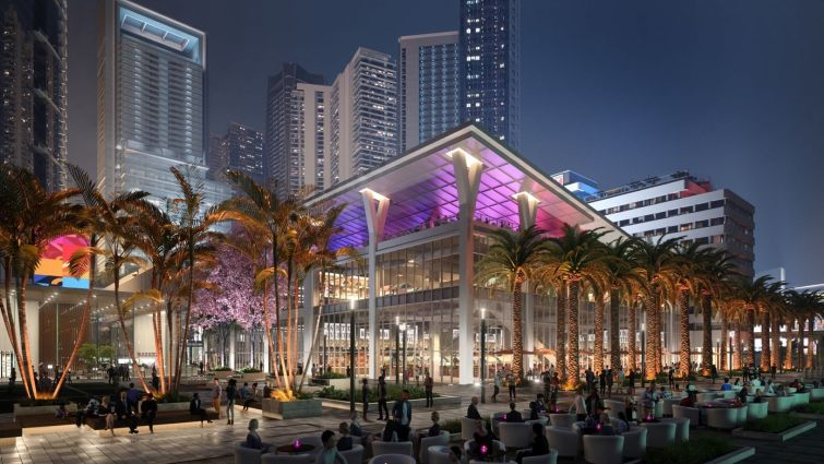 Rendering of Miami Worldcenter. Credit: Miami Worldcenter Associates