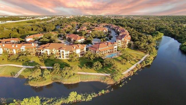 Muir Lake Apartments in Cedar Park, Texas.