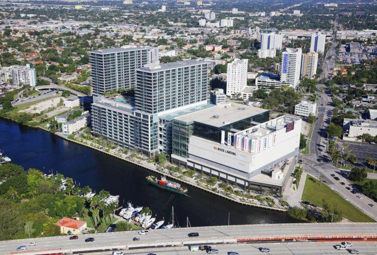 Miami's River Landing complex.