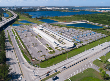 The Dolphin Station Park and Ride Transit Terminal Facility. Credit: MDX