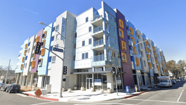 Built in 2020, the five-story community sits on 1.06 acres and features 13,520 square feet of ground-floor retail space.