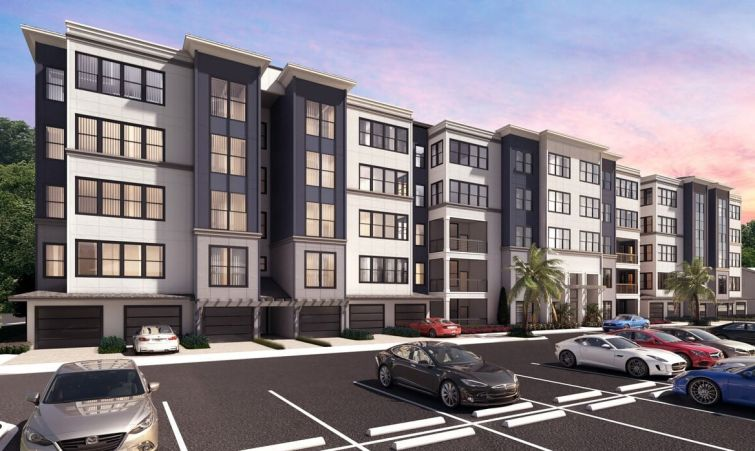 A rendering for The Pointe at Westshore in Tampa, Fla.