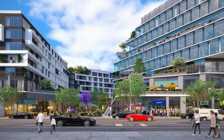Gelson's will occupy 36,000 square feet on the plaza level of the seven-story residential building. Gelson's is anticipated to open in early 2023.