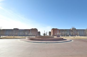 Residences at Town Square in Amarillo, Texas.