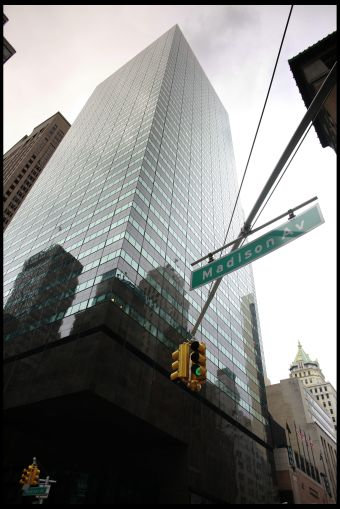 BrightSpire Capital recently changed its corporate headquarters from Los Angele to 590 Madison Avenue in Manhattan (pictured)