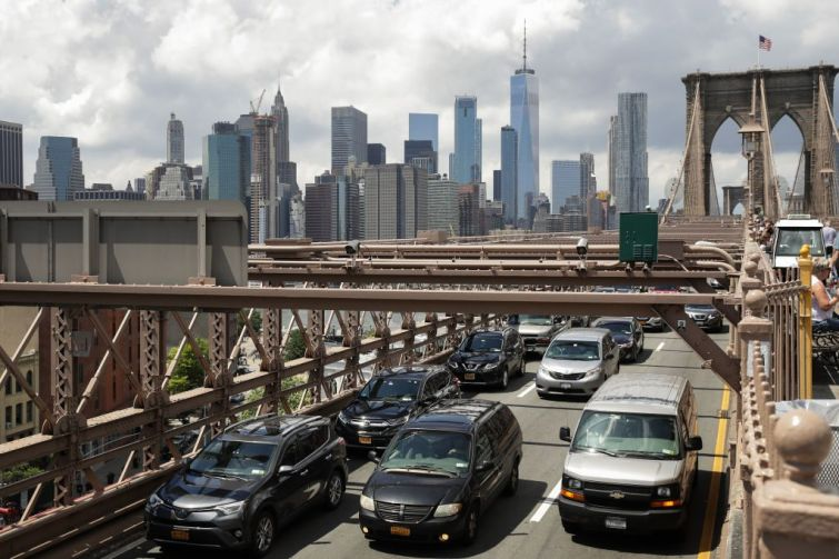 Brooklyn Bridge Traffic