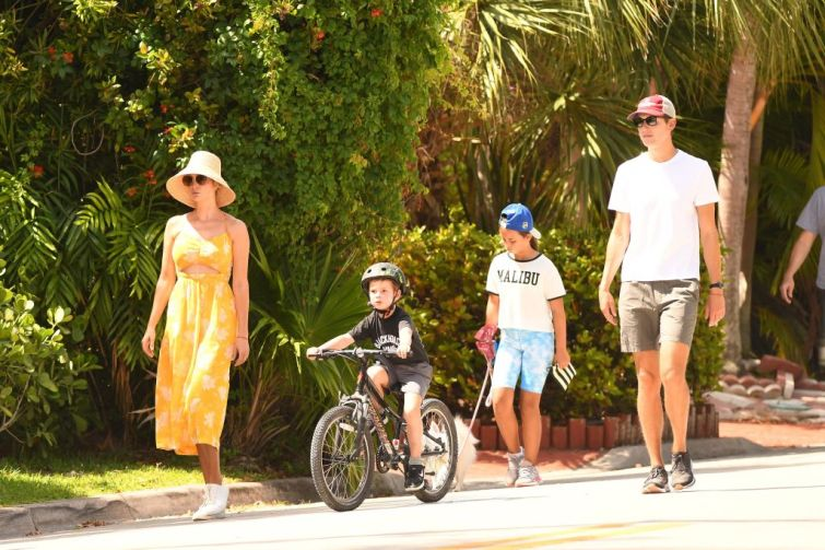 Jared Kushner and family in Miami, June 2021.
