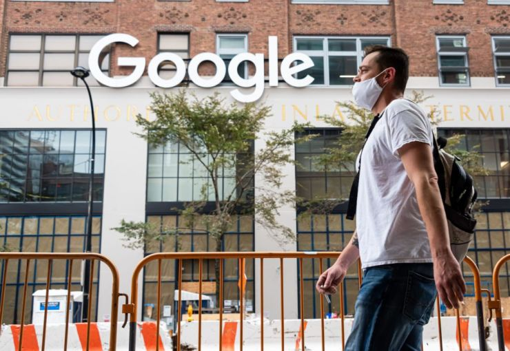 Google's offices in Chelsea