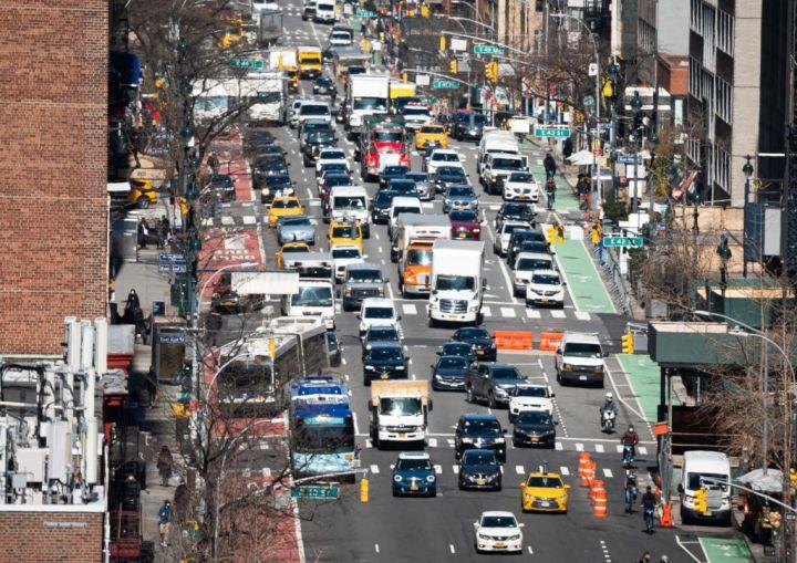 Traffic in New York City