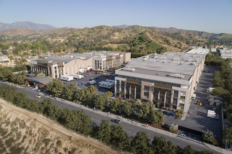 The 240,000-square-foot project will include seven film- and TV-ready soundstages, production office and support space with more than 10 acres at 11070 West Peoria Street in the Sun Valley neighborhood.