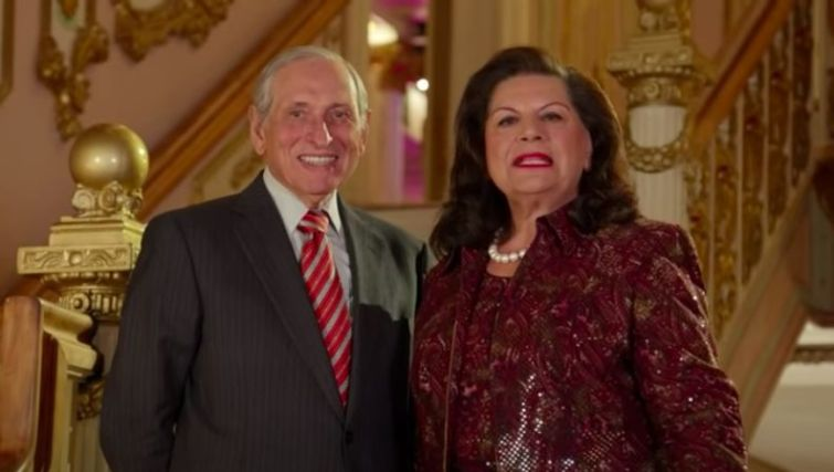 Michael and Alice Halkias, owners of the Grand Prospect Hall.