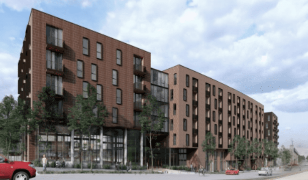 A rendering of Chartwell at Marathon.