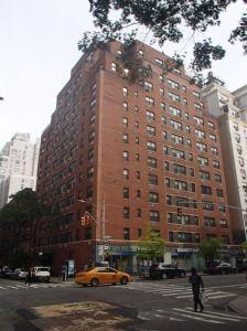The co-op building that hosts the Duane Reade at 1235 Lexington Avenue at its base.