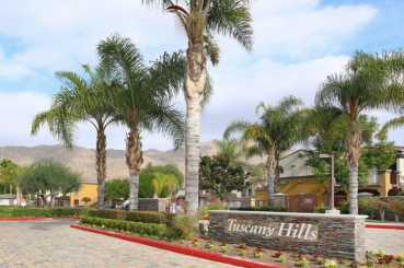 Tuscany Hills Apartment Homes is located in Moreno Valley, Calif. around 60 miles east of Los Angeles
